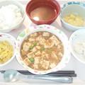 3月29日昼食(麻婆豆腐) #病院食
