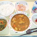 3月30日夕食(チキンカレー) #病院食