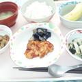 4月2日昼食(鶏のグリル焼き) #病院食