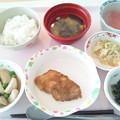 4月6日昼食(鶏の胡麻焼き) #病院食