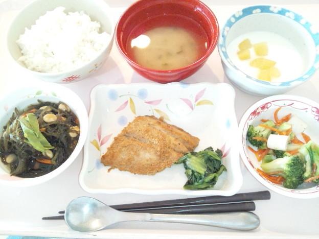 5月26日昼食(鰆の胡麻焼き) #病院食