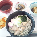 5月27日昼食(鶏南蛮そば) #病院食