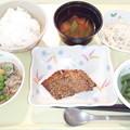 5月27日夕食(鯵の南部焼き) #病院食