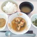 8月4日朝食(竹輪の煮物) #病院食