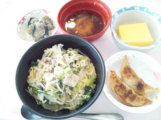 8月14日昼食(味噌ラーメン) #病院食
