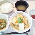 Photos: 9月20日朝食(はんぺんの玉子とじ) #病院食