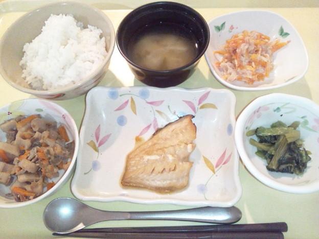 9月20日夕食(めばるの蒲焼き) #病院食