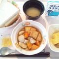 Photos: 9月24日朝食(生揚げの煮物) #病院食