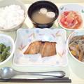 9月24日夕食(鯵の南部焼き) #病院食