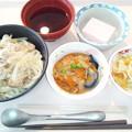9月26日昼食(肉うどん) #病院食