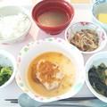 9月29日昼食(鶏肉の中華風葱ソース) #病院食