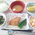 9月30日昼食(めばるの七味焼き) #病院食