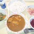 9月30日夕食(チキンカレー) #病院食