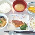 Photos: 10月17日昼食(めばるのバター醤油焼き) #病院食