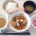 Photos: 10月18日朝食(さつま揚げの煮物)