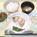 Photos: 10月19日夕食(鶏の塩麹焼き) #病院食