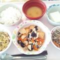 Photos: 10月20日昼食(家常豆腐) #病院食