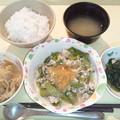 Photos: 10月21日夕食(豚肉のオニオンソース) #病院食