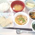 10月23日昼食(松風焼き) #病院食