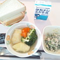 10月24日朝食(ロールキャベツ) #病院食