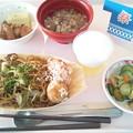 10月24日昼食(屋台風メニュー) #病院食