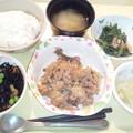 Photos: 10月25日(豚肉の生姜焼き) #病院食