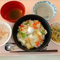 Photos: 10月26日昼食(中華丼) #病院食