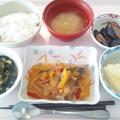 Photos: 10月27日昼食(鯵の野菜あんかけ) #病院食