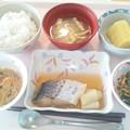 10月28日昼食(鰆の煮付け) #病院食