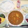 Photos: 10月28日夕食(ビーフカレー) #病院食