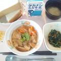 Photos: 10月29日朝食(車麩の煮物) #病院食