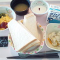 Photos: 10月31日朝食(スクランブルエッグ) #病院食