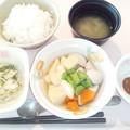 Photos: 11月1日朝食(いか団子の煮物) #病院食