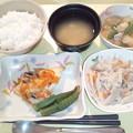 11月22日夕食(赤魚の香り蒸し) #病院食