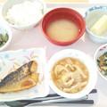 11月24日昼食(鯖のピリ辛焼き) #病院食