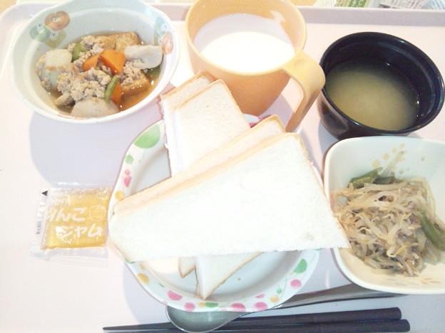 11月25日朝食(厚揚げの煮物) #病院食