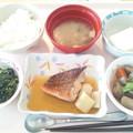 Photos: 11月29日昼食(めばるの煮付け) #病院食