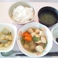 Photos: 12月1日朝食(イカ団子の煮物) #病院食