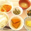 Photos: 12月1日昼食(カレイのムニエルトマトソース) #病院食