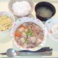 Photos: 12月1日夕食(豚肉とかぶのやわらか煮) #病院食