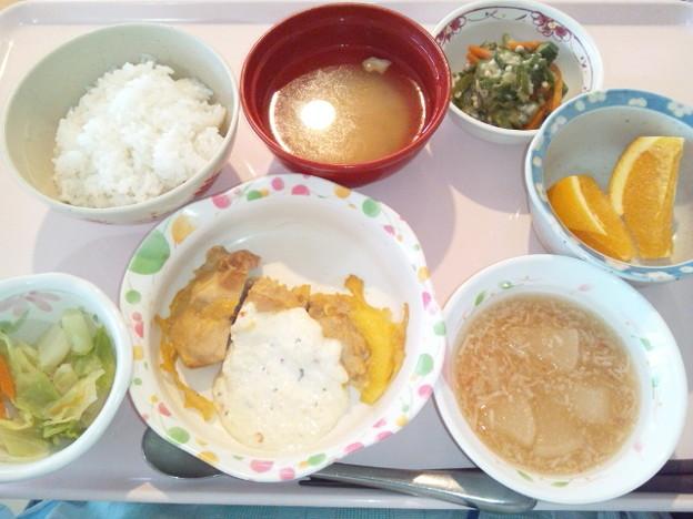Photos: 12月2日昼食(チキン南蛮) #病院食