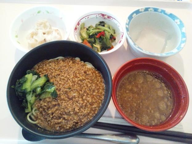 12月5日昼食(担々麺) #病院食