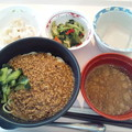 Photos: 12月5日昼食(担々麺) #病院食