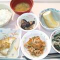 1月15日昼食(赤魚の香り蒸し) #病院食