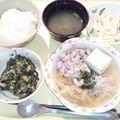 Photos: 1月18日夕食(肉豆腐) #病院食