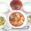 Photos: 1月19日昼食(肉団子の酢豚風) #病院食