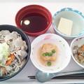 1月20日昼食(けんちんそば) #病院食