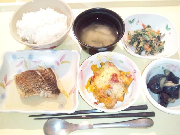 1月20日夕食(めばるの煮付け) #病院食