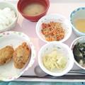 1月21日昼食(ピーマン肉詰め) #病院食
