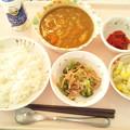 Photos: 1月22日昼食(シーフードカレー) #病院食